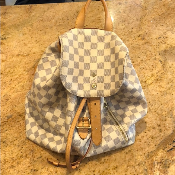 8e4c5b68798b Louis Vuitton Handbags - Louis Vuitton Sperone Backpack Damier Azur